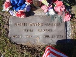 Leslie Wayne Carter