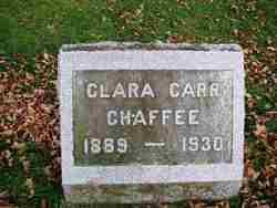 Clara Luella <i>Carr</i> Chaffee