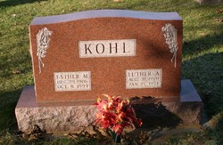 Esther M. <i>Ploetz</i> Kohl