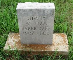 Sidney William Baker-Dare