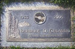Barbara <i>Upshaw</i> Casaglio