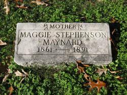 Maggie Cassander <i>Stephenson</i> Maynard