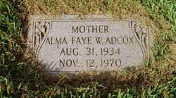 Alma Faye Adcox