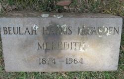 Beulah <i>Harris</i> Meredith