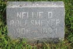 Nellie D. <i>Stauffenberg</i> Rolfsmeyer
