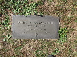 Pvt Finis E. Alexander