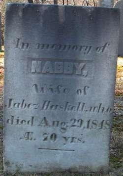 Abigail Nabby <i>Chipman</i> Haskell