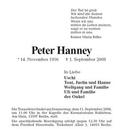 Peter Hanney
