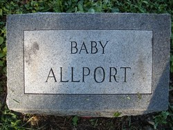 Infant Daughter Allport