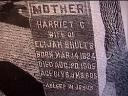 Harriet Catherine <i>Sterling</i> Shults