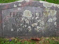 Fred Andrew Caviness