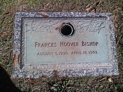 Frances <i>Hoover</i> Bishop