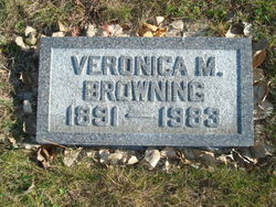 Veronica M Browning