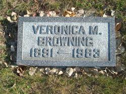 Veronica M Browning