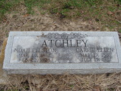 Carrie Ellen <i>Gipson</i> Atchley