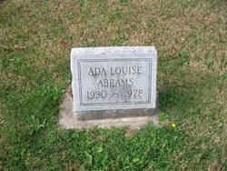 Ada Louise Abrams