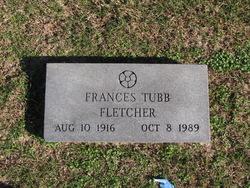 Frances <i>Tubb</i> Fletcher
