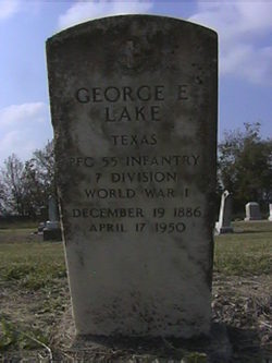 George Edward Ed Lake