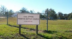 Cool Spring Primitive Baptist Church Cemetery