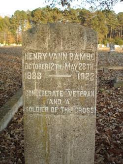 Lieut Henry Vann Rambo