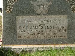 Pvt James M Staton