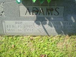 Roy Lee Adams