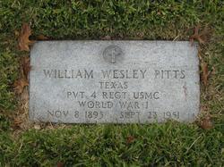 William Wesley Whitey Pitts
