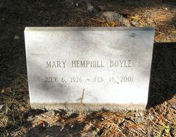 Mary Osborn <i>Hemphill</i> Boyle