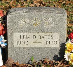 Lemuel Dewey Lem Bates