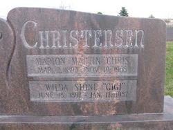 Marion Martin Chris Christensen