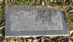 Lucenda Elizabeth Cindy <i>Rowton</i> Bates