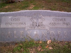 Lydia Elizabeth <i>Dickens</i> Alexander