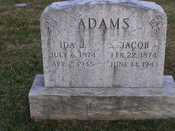 Ida <i>Raub</i> Adams