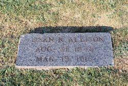 Susan Katherine <i>Stevens</i> Allison