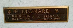 Irene E Leonard