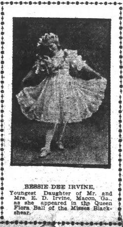 Elizabeth Dee Bessie <i>Irvine</i> Alsbrook