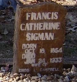 Francis Catherine <i>Sigman</i> Campbell