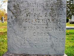Sarah P. <i>Drennen</i> Cross