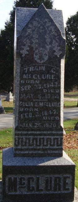 Gulia E <i>Swain</i> McClure