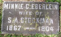 Minnie <i>Eberlein</i> Stockman