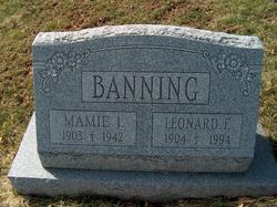 Leonard F Banning