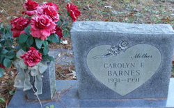 Carolyn F Barnes