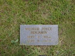 Mildred Joyce Benjamin