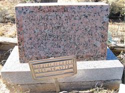 Dorothy Ann Baca