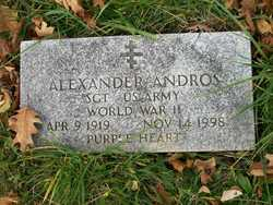 Sgt Alexander Andros