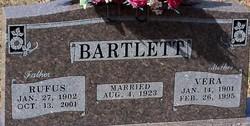Vera <i>Rusk</i> Bartlett