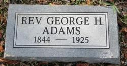 Rev George H Adams