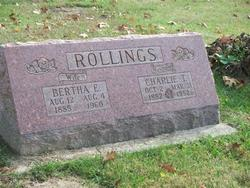 Bertha Elizabeth <i>Hadley</i> Rollings