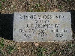 Minnie V <i>Costner</i> Abernethy