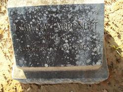 Isabella <i>Carbonett</i> Poitevent